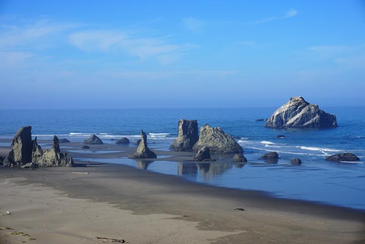 Bandon oregon beach pictures